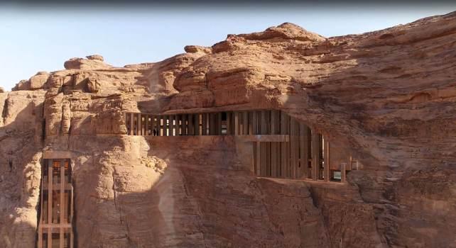Sharaan : Le nouveau projet hôtelier de l'architecte Jean Nouvel au cœur du désert d'Al-Ula