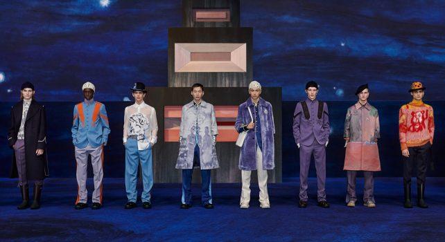 Dior Homme Hiver 2021-2022 : Une rencontre entre la mode et la peinture