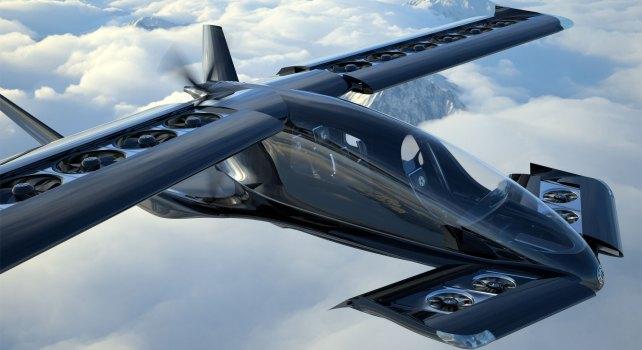 Horizon Aircraft «Cavorite X5» : Le nouvel avion eVTOL longue portée