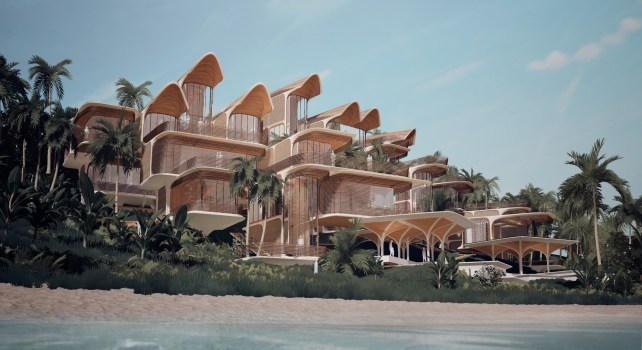 Zaha Hadid Architects : Un complexe luxueux et écologique sur l'île de Roatán