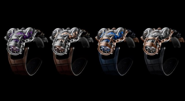 MB&F Horological Machine n°9 « Sapphire Vision » : Un design unique, un savoir-faire exceptionnel