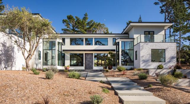 Californie : Une villa à 6,8 millions de dollars au cœur des parcours de Golf de Poppy Hills