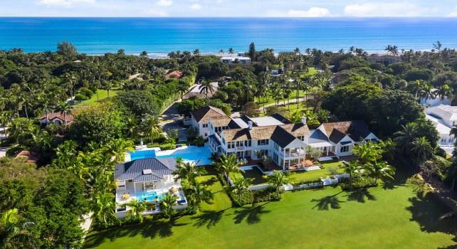 Floride : La villa du golfeur Greg Norman ou le paradis sur terre