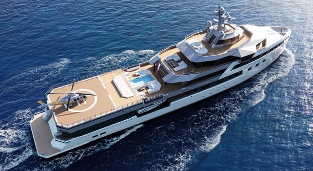 SeaExplorer 77 : Une nouvelle version du yacht d'expédition signée Damen Yachting