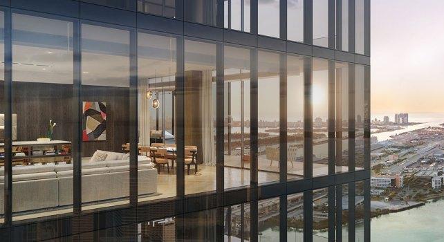 Waldorf Astoria : La plus haute tour résidentielle de Miami ouvre ses portes