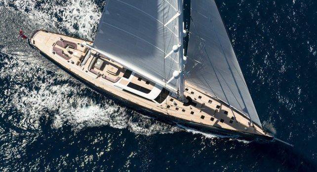Pink Gin VI : Un voilier de luxe de 54 mètres en vente à 39 millions d'euros