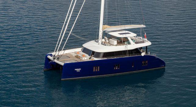 Sunreef 80 Fantastic Too : Un catamaran en carbone pour des performances améliorées