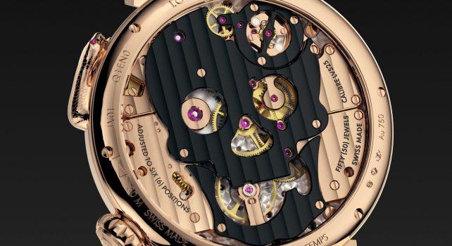 Louis Vuitton Tambour Carpe Diem : La montre jacquemart à mi-chemin entre horlogerie et art sculptural