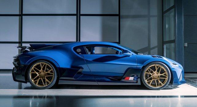 Bugatti Divo : Le quarantième et dernier exemplaire vient d'être livré à son propriétaire