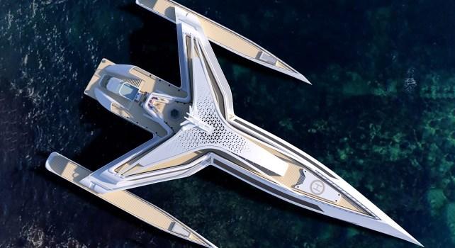 L'Estrella : Un yacht unique au design audacieux