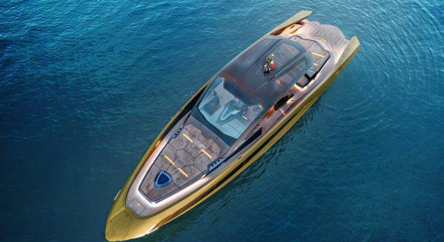 Tecnomar for Lamborghini 63 : Le premier yacht sportif conçu par le constructeur italien vient d'être livré
