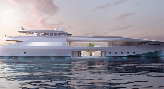 Naboo : Le yacht zéro-émission développé par Hidden Portside