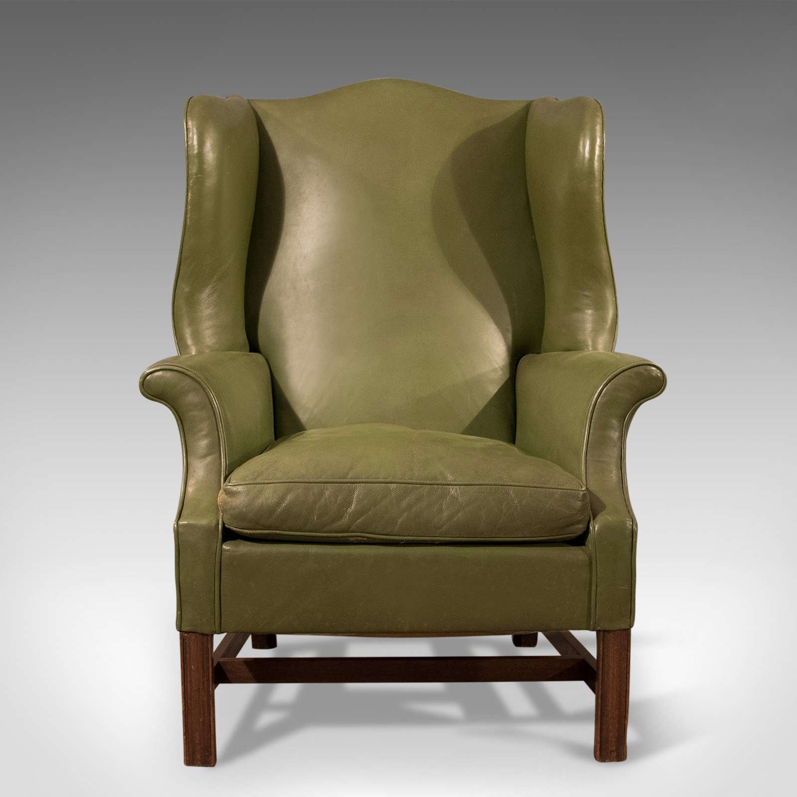 large wingback chair covers and bows to buy antique wing back armchair english leather club