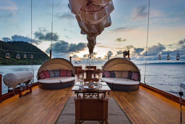 The phinisi charter yacht Sequoia