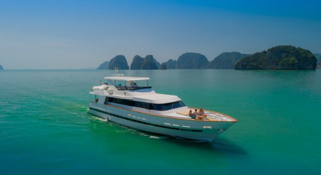 Pattaya The 88ft Baglietto Ajao was among many yachts to confirm months ahead of the event