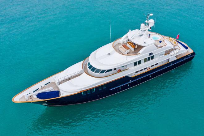 Fraser Hong Kong sold the 44m Odyssey, a 2007 build by Danish yard Royal Denship.