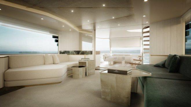 Milan-based Vincenzo De Cotiis designed the interior