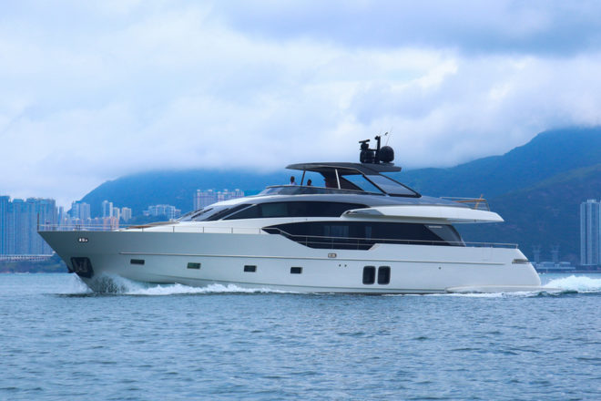 Sanlorenzo Asia sales into Hong Kong in 2020 include an SL86