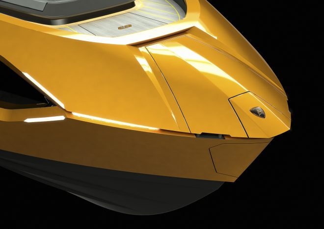 Lamborghini's Style Centre helped design the super sporty yacht