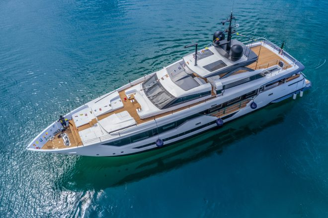 The Custom Line 106' premiered last September - and six have already been built