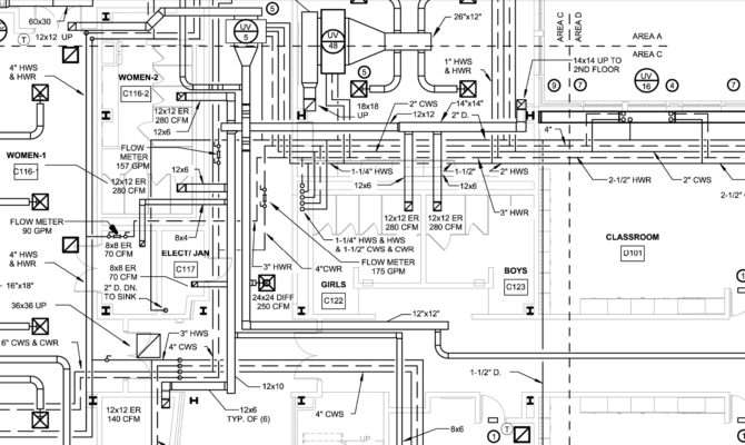 16 Plumbing Blueprints Is Mix Of Brilliant Thought