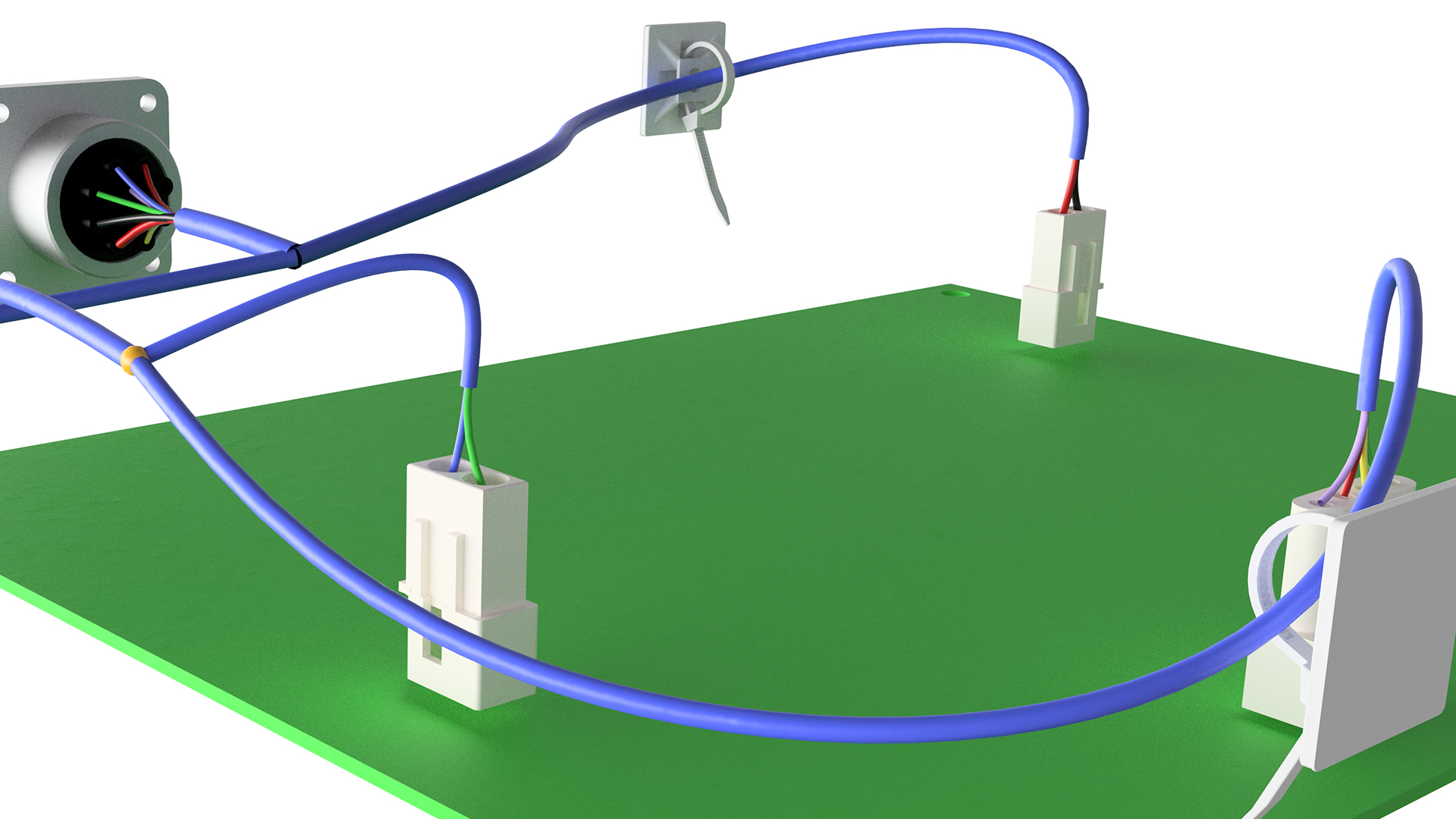 hight resolution of autodesk inventor routed systems harnessdigital board wire harness routing 21