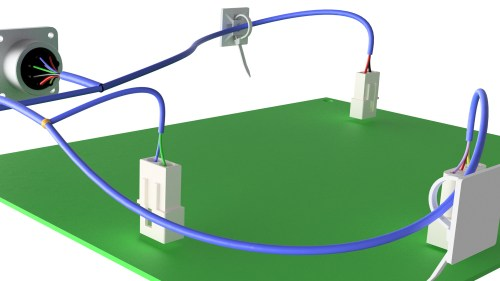 small resolution of autodesk inventor routed systems harnessdigital board wire harness routing 21