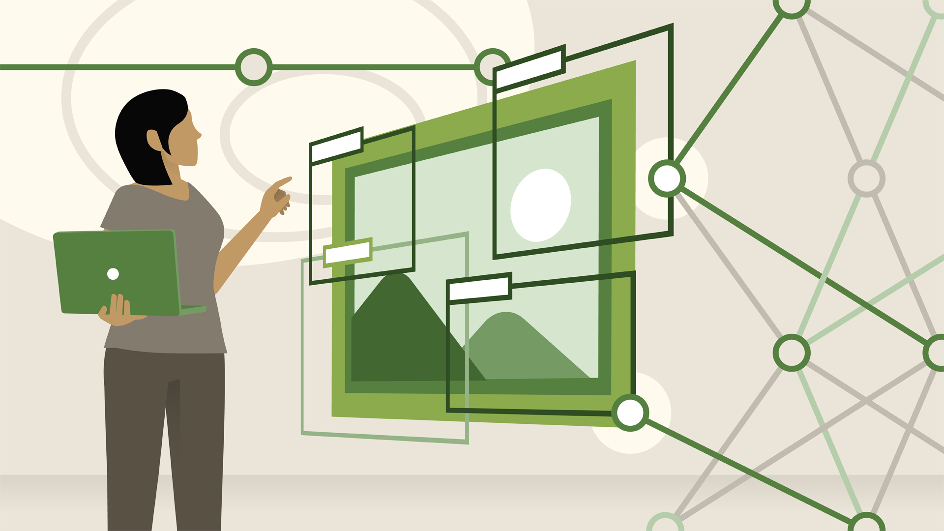 hight resolution of virtual environment diagram