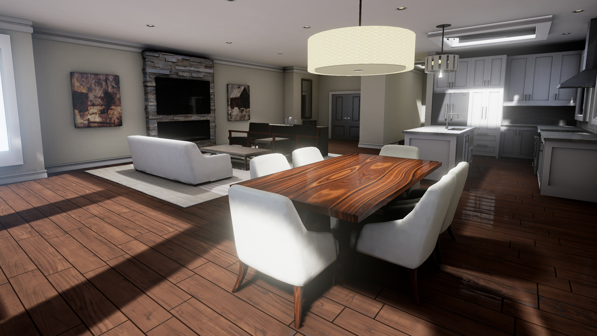 design living room virtual chairs under 200 unreal reality for architectural industrial visualization