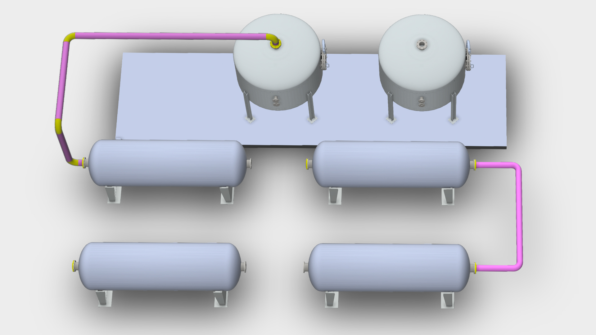 hight resolution of piping layout guideline