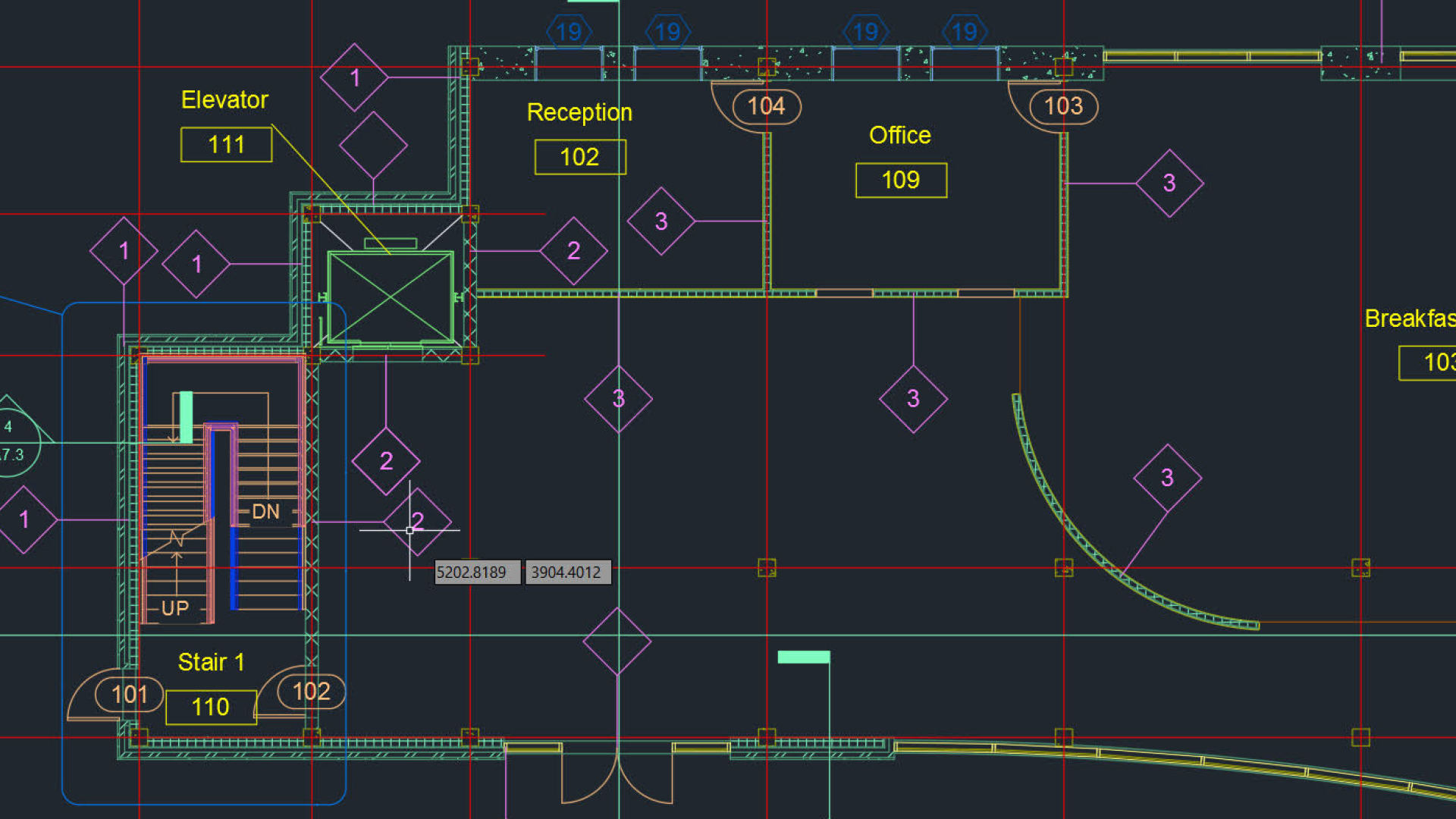 hight resolution of working with autocad blocks