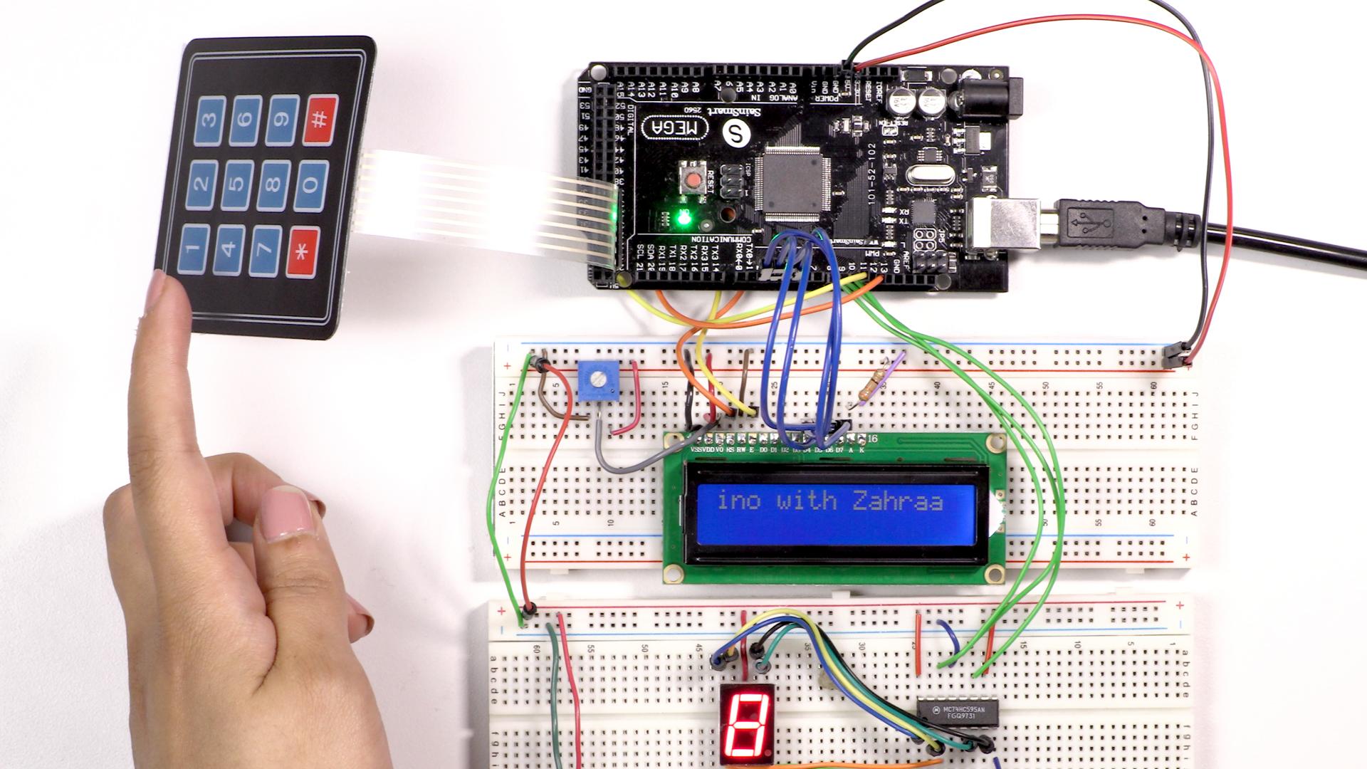 hight resolution of wiring digital input