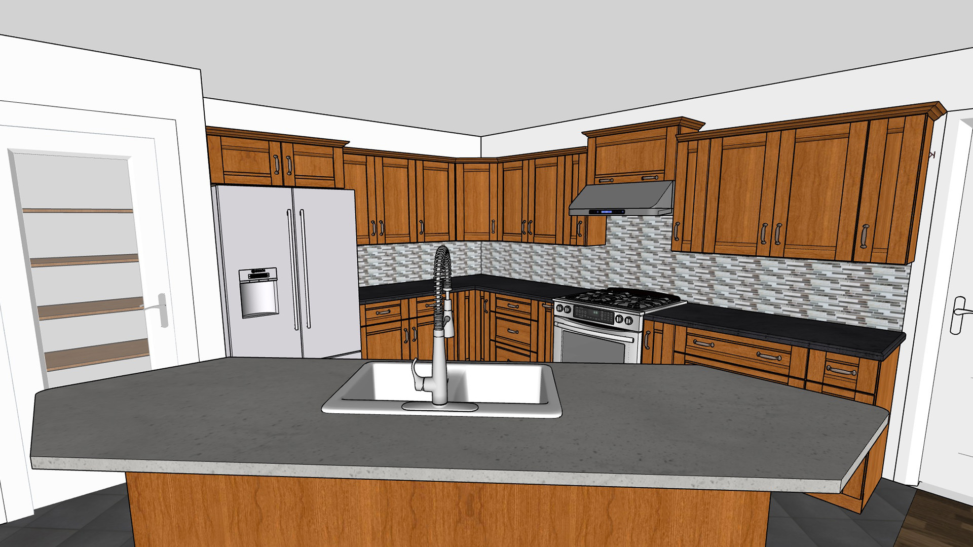 Learn About Sketchup And Kitchen Design