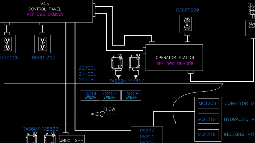medium resolution of autocad electrical implementing plcs