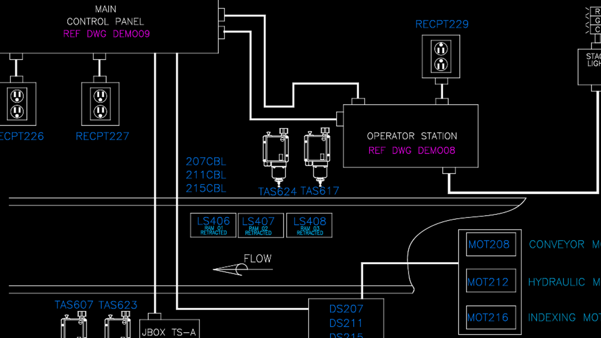 hight resolution of autocad electrical implementing plcs