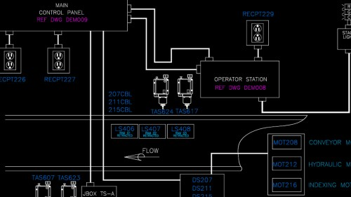 small resolution of autocad electrical implementing plcs