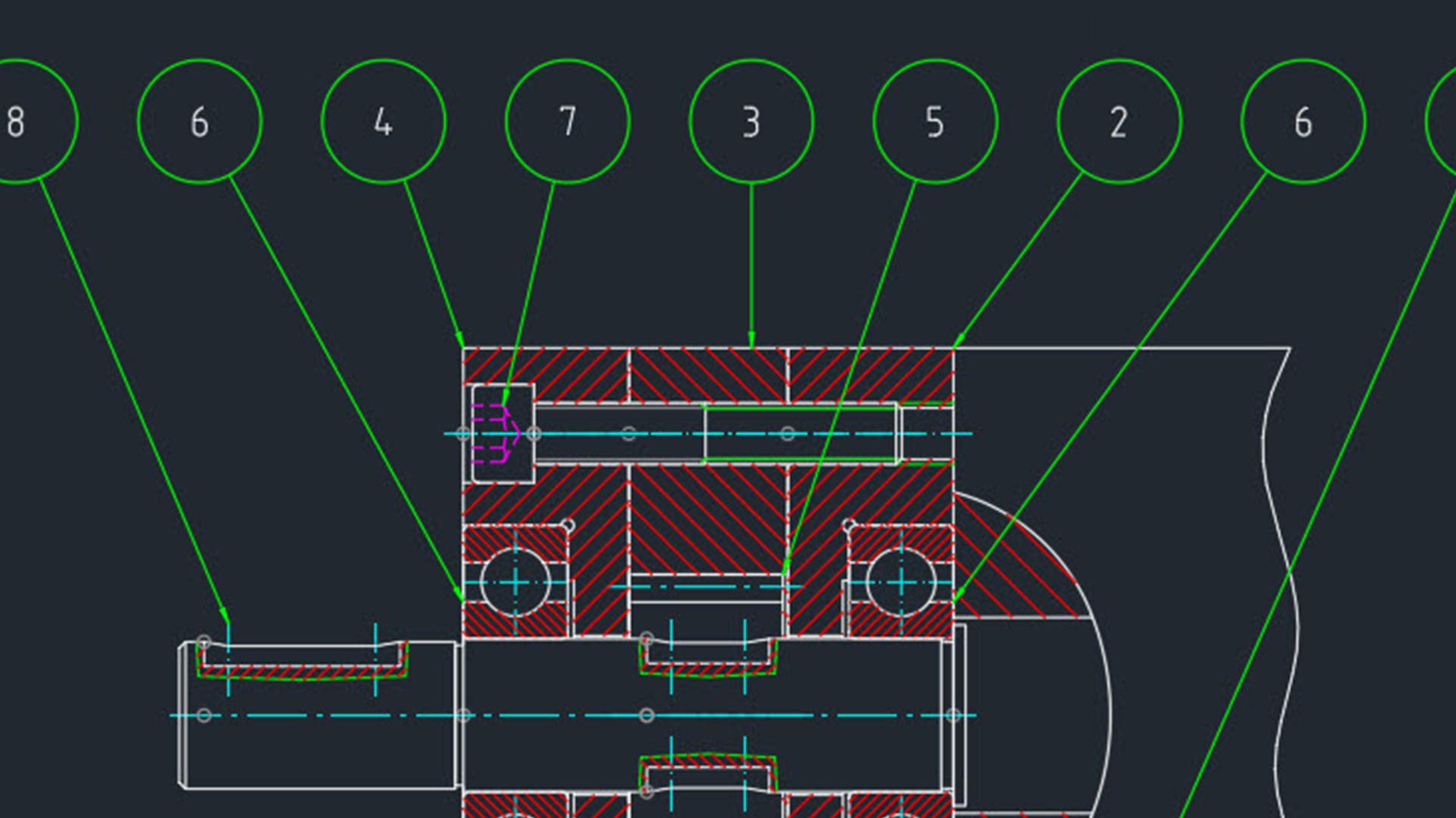hight resolution of autocad mechanical essential training