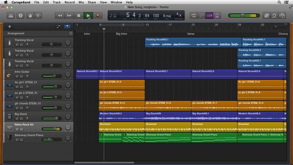 GarageBand  Online Courses Classes Training Tutorials