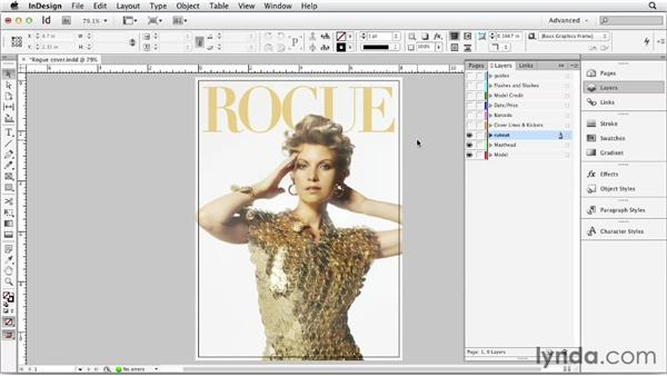 Understanding the parts of a magazine cover
