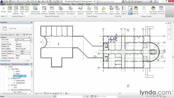Creating a plumbing view