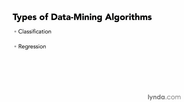 Types of data-mining algorithms