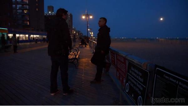 Fall Live Wallpaper Shooting Scenes From A Low Light Boardwalk
