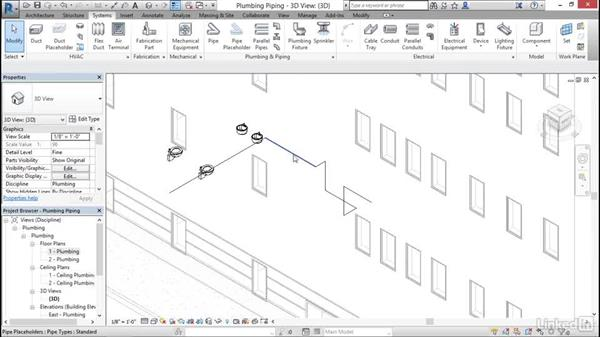 Plumbing: Add and modify placeholder pipe