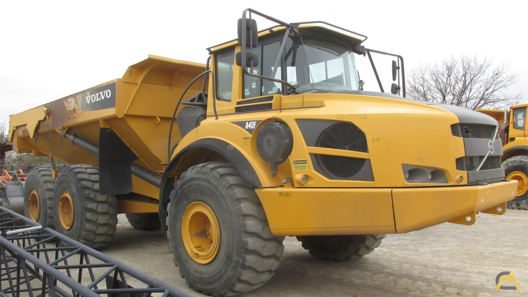 hight resolution of this equipment has sold volvo a40f articulating off highway dump truck 1