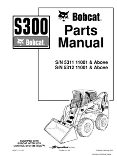 Bobcat S300 Specifications Machine.Market