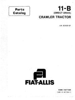 Fiatallis Specifications Machine.Market