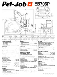Pel-Job Specifications Machine.Market