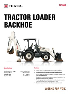 Terex Specifications Machine.Market Page 8