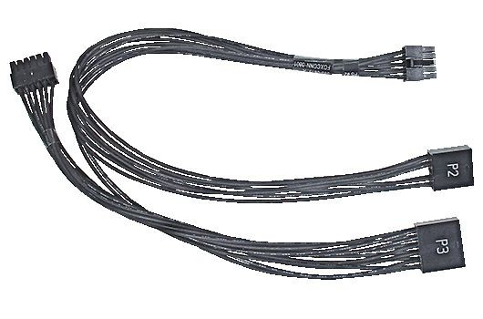 922-8501 Power Supply Cable, PS#2 and PS#3, with Velcro