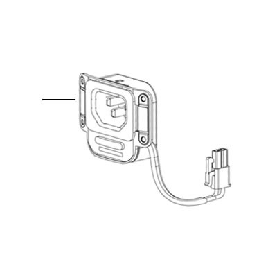 923-0505 Apple AC Inlet for Mac Pro Late 2013, A1481